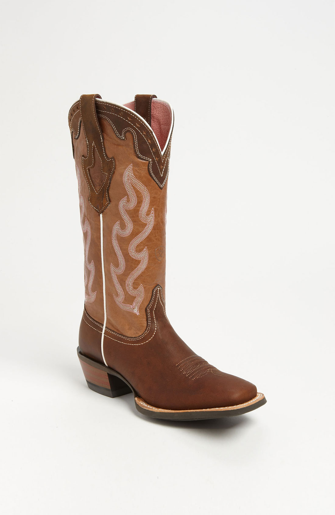 Ariat Crossfire Caliente Boot In Brown Weathered Brown