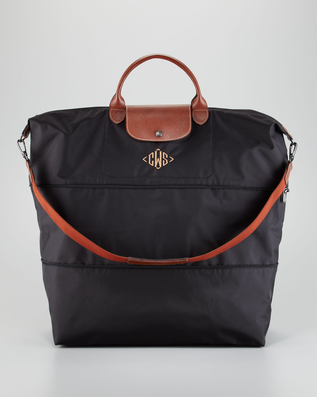 monogrammed suitcases