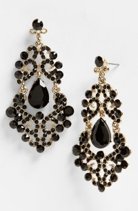 Black Gold Earrings | Black Gold