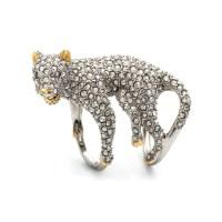 Alexis bittar Moonlight Panther Ring in Metallic | Lyst