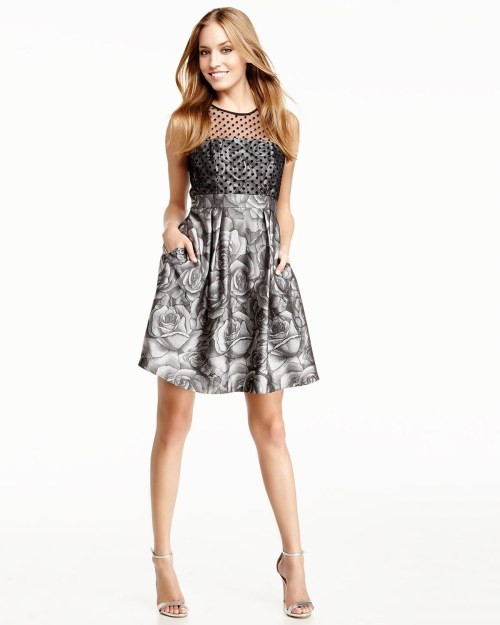 Medium Of Fit And Flare Cocktail Dress