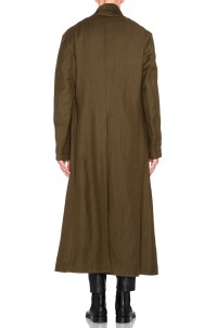 Haider ackermann Oversized Shawl Collar Coat in Green for ...