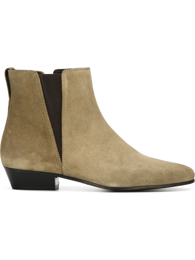 Lyst Isabel Marant Etoile 39patsha39 Boots In Natural