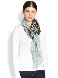 Lyst - Yigal Azroul Face Cashmere Modal Scarf