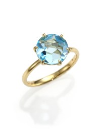 Lyst - Ippolita Rock Candy Blue Topaz & 18k Yellow Gold ...