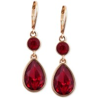 Red And Gold Earrings Tmc Red White Gold Beaded Diamond ...