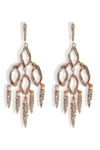Lyst - Alexis Bittar Dangling Spike Earrings - Gold in Pink