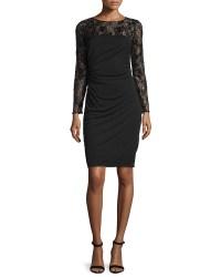 Long Sleeve Black Cocktail Dresses - Eligent Prom Dresses