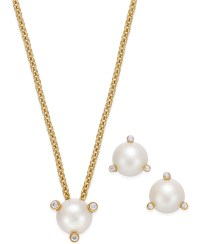 Lyst - Kate Spade New York 14k Gold-plated Imitation Pearl ...