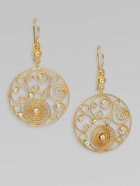 Lyst - Roberto coin Mauresque Diamond & 18k Yellow Gold ...