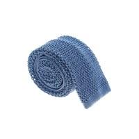 Dell'oglio Light Blue Knit Silk Tie in Blue for Men | Lyst