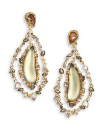 Alexis bittar Imperial Lucite, Black Moonstone & Crystal ...
