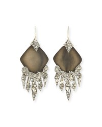 Lyst - Alexis Bittar Shattered Crystal Chandelier Earrings ...