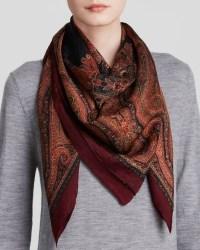 Lyst - Lauren By Ralph Lauren Anjali Paisley Jacquard Silk ...