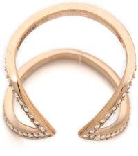 Rose Gold Ring: Michael Kors Rose Gold Ring Size 6