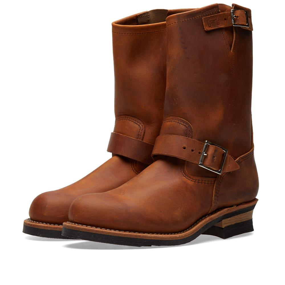 Lyst Red Wing 2972 11quot Engineer Boot In Brown For Men