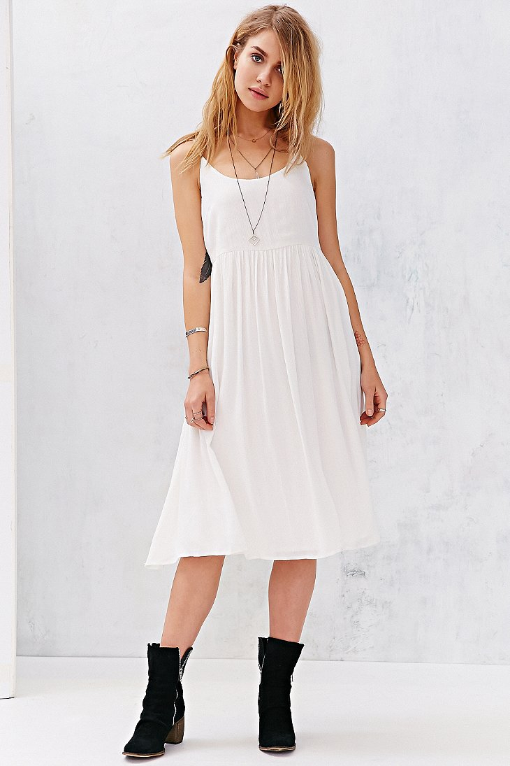 Large Of White Flowy Dress