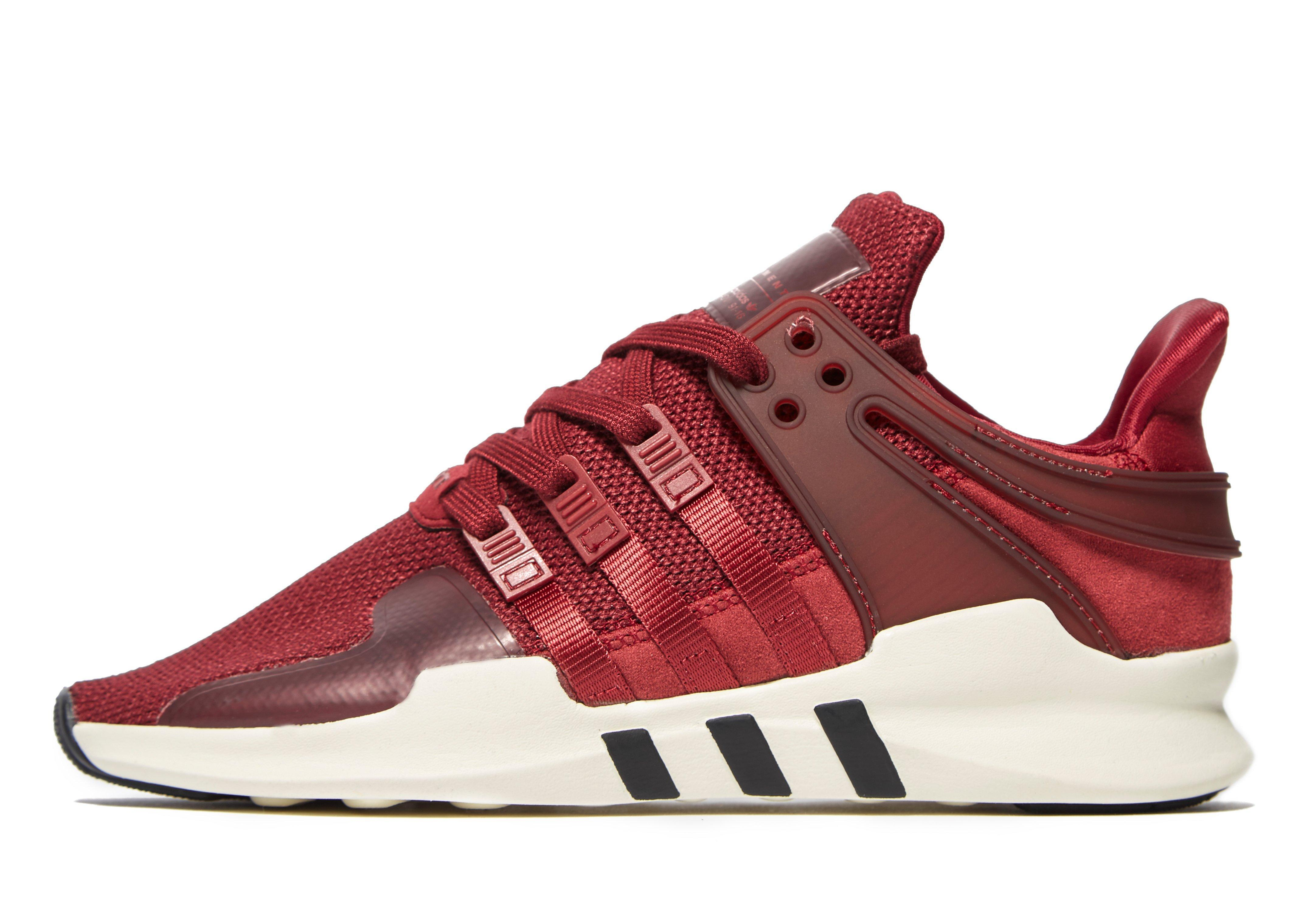 Lyst Adidas Originals Eqt Support Adv In Red