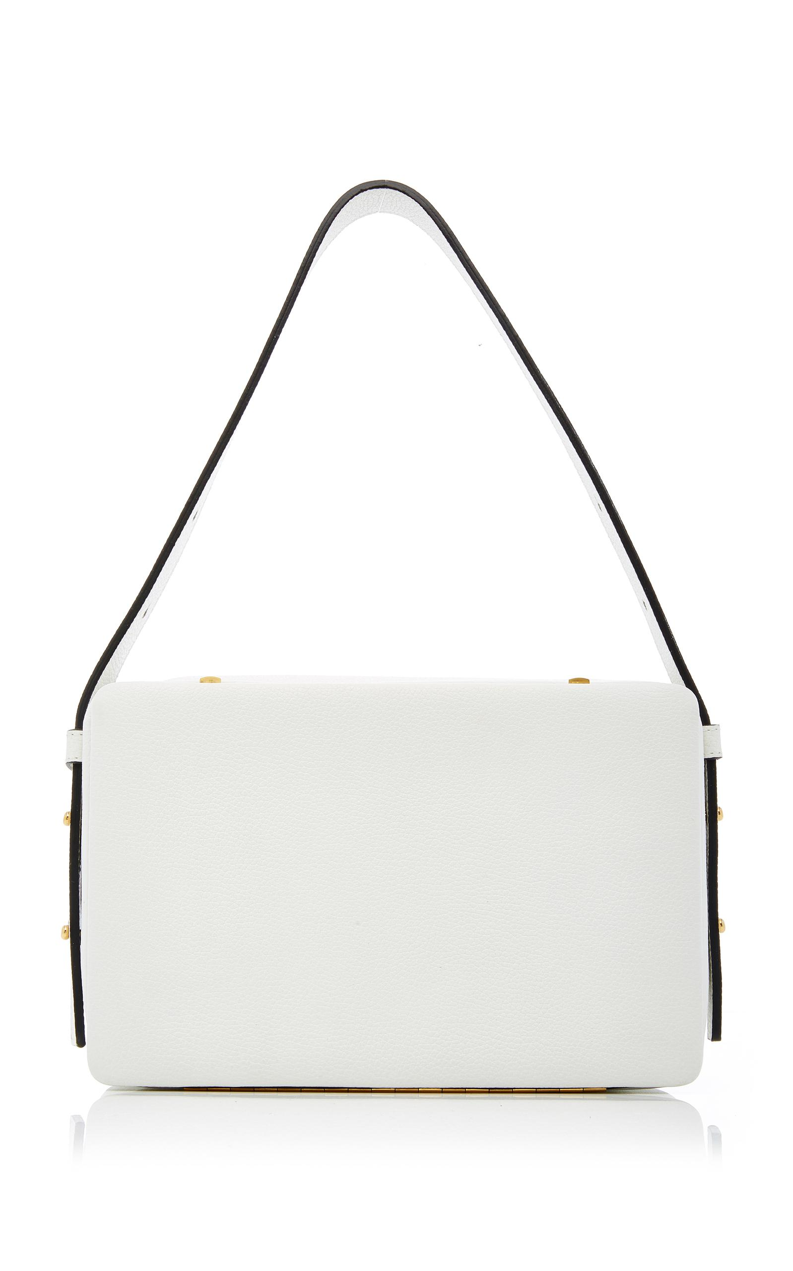 Lutz Strass Lutz Morris Tate Large Shoulder Bag In White Lyst