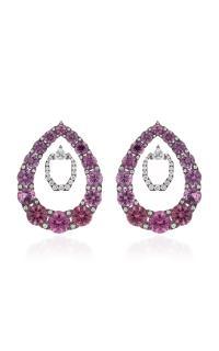 Nikos koulis Lingerie Pink Spinel Earrings in Pink | Lyst