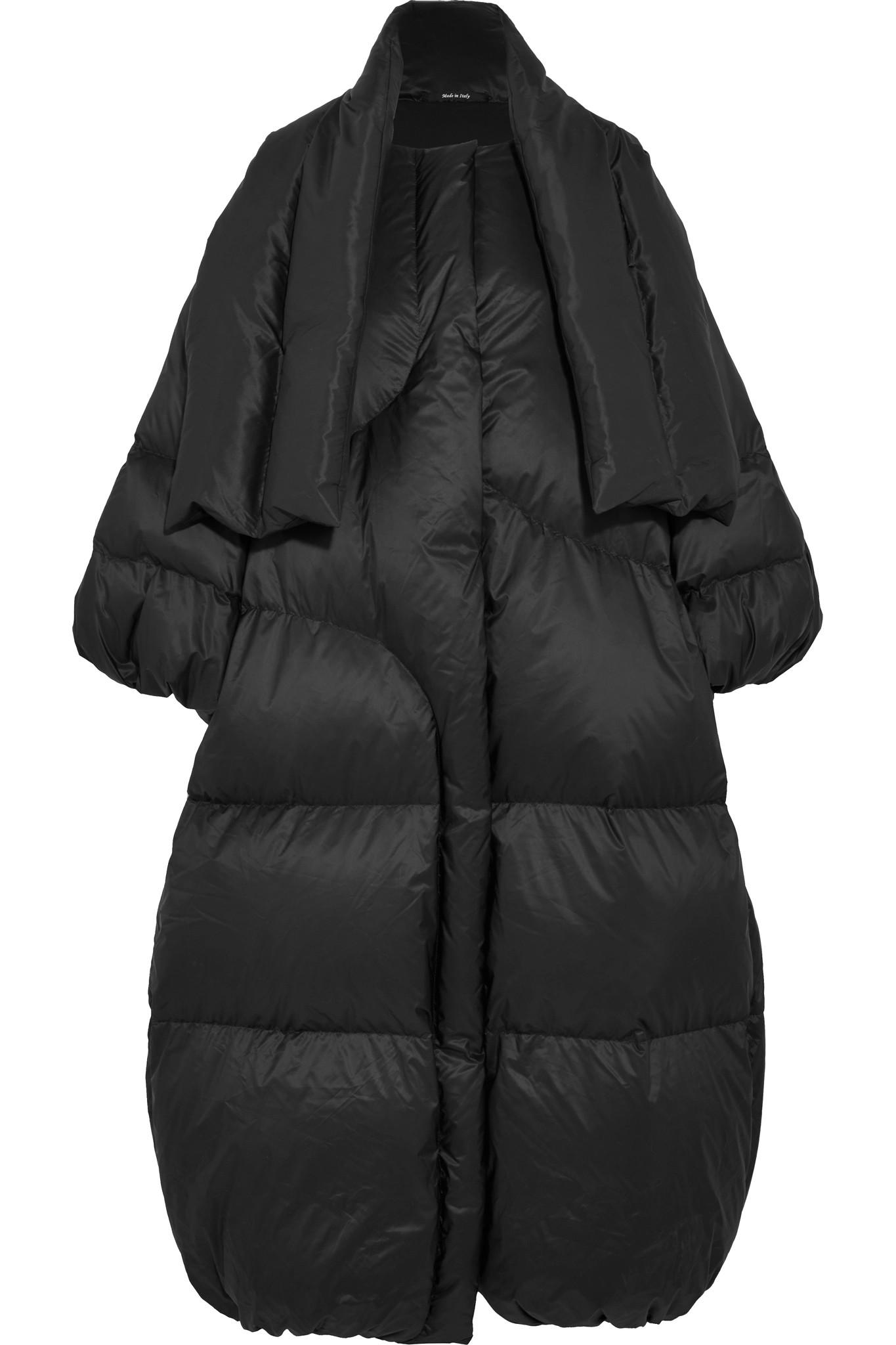 Lyst Maison Margiela Oversized Quilted Shell Down Coat