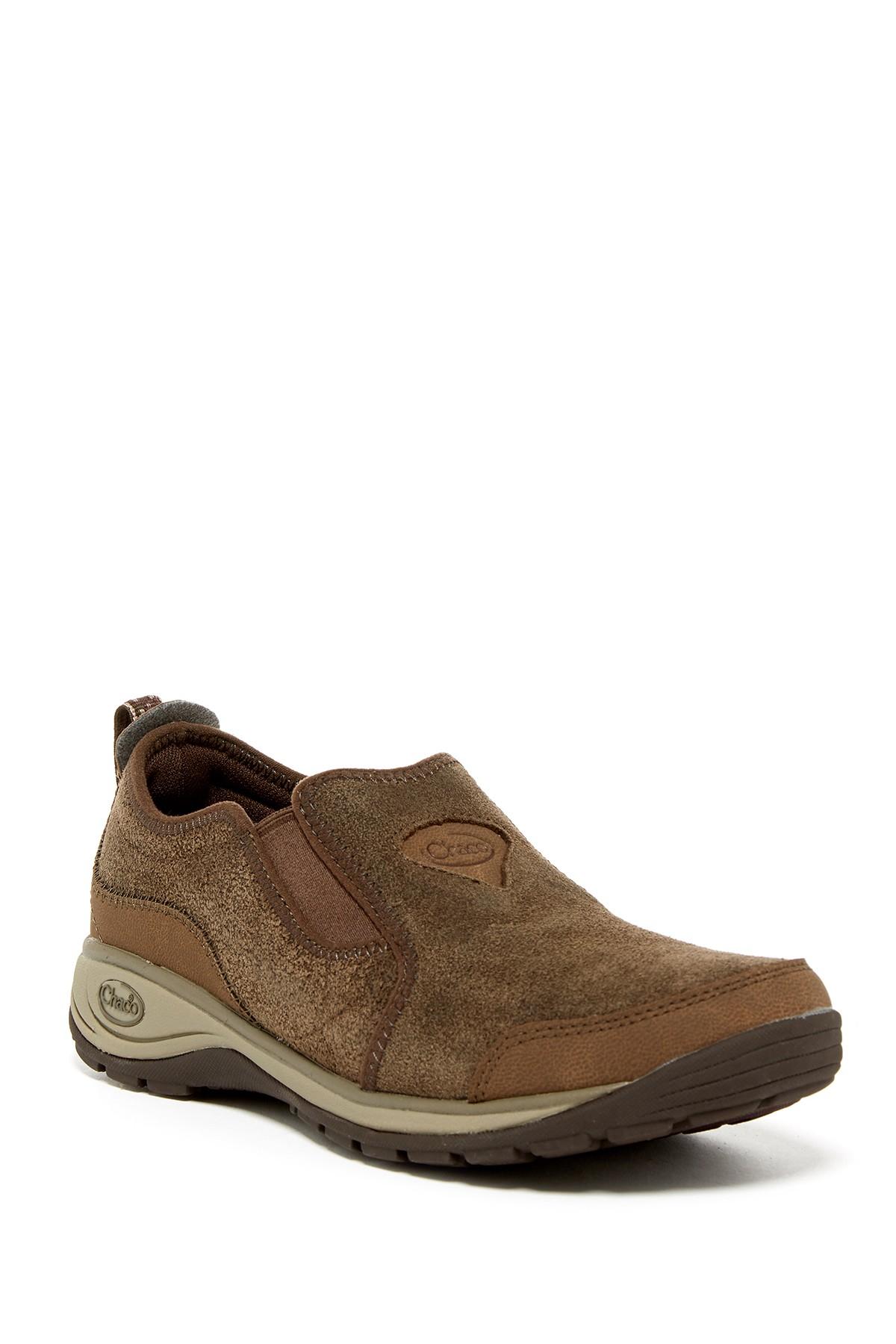 Lyst Chaco Kendry Waterproof Suede Sneaker In Brown