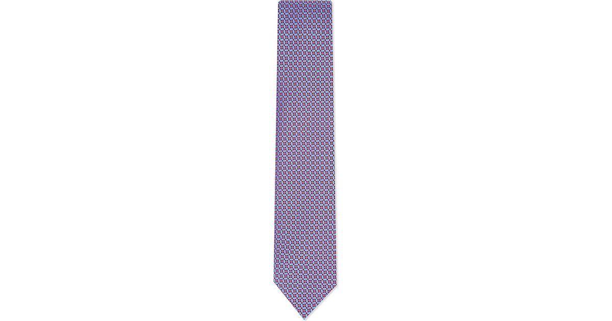 charvet red tie