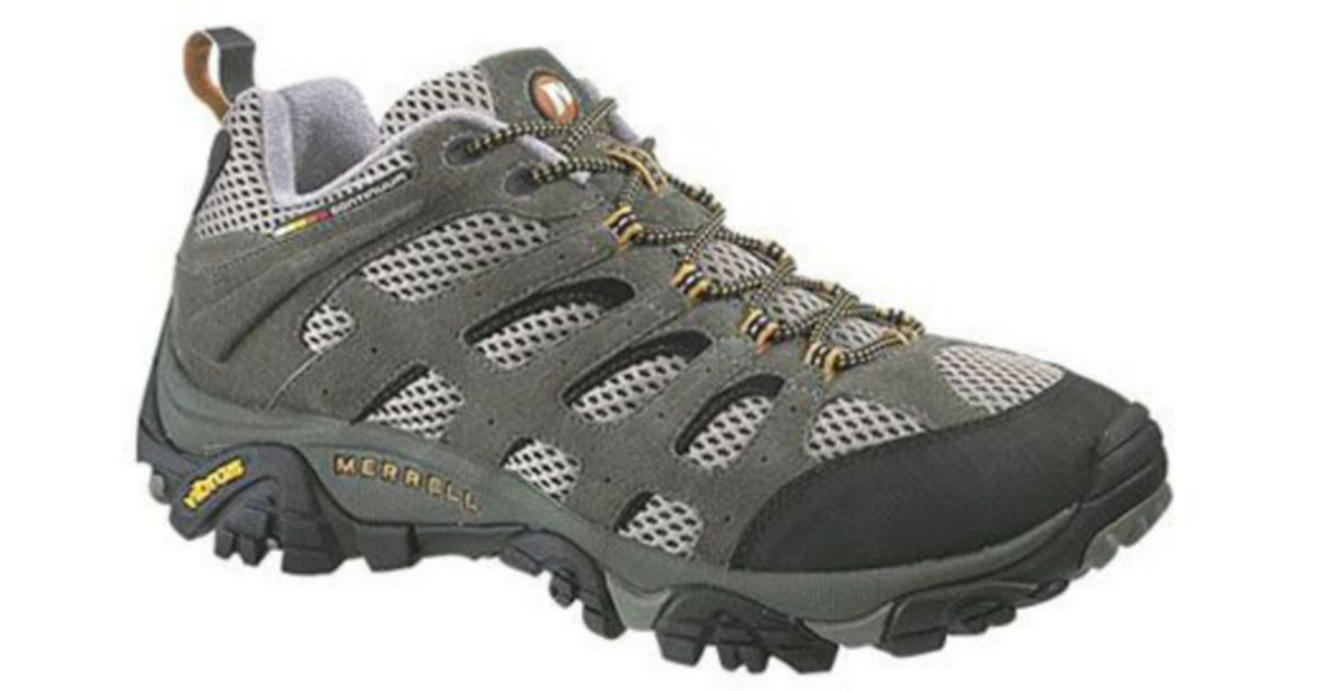 Lyst Merrell Moab Ventilator Shoes In Black For Men