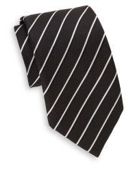 Saks fifth avenue Two-tone Striped Silk Tie & Gift Box in ...