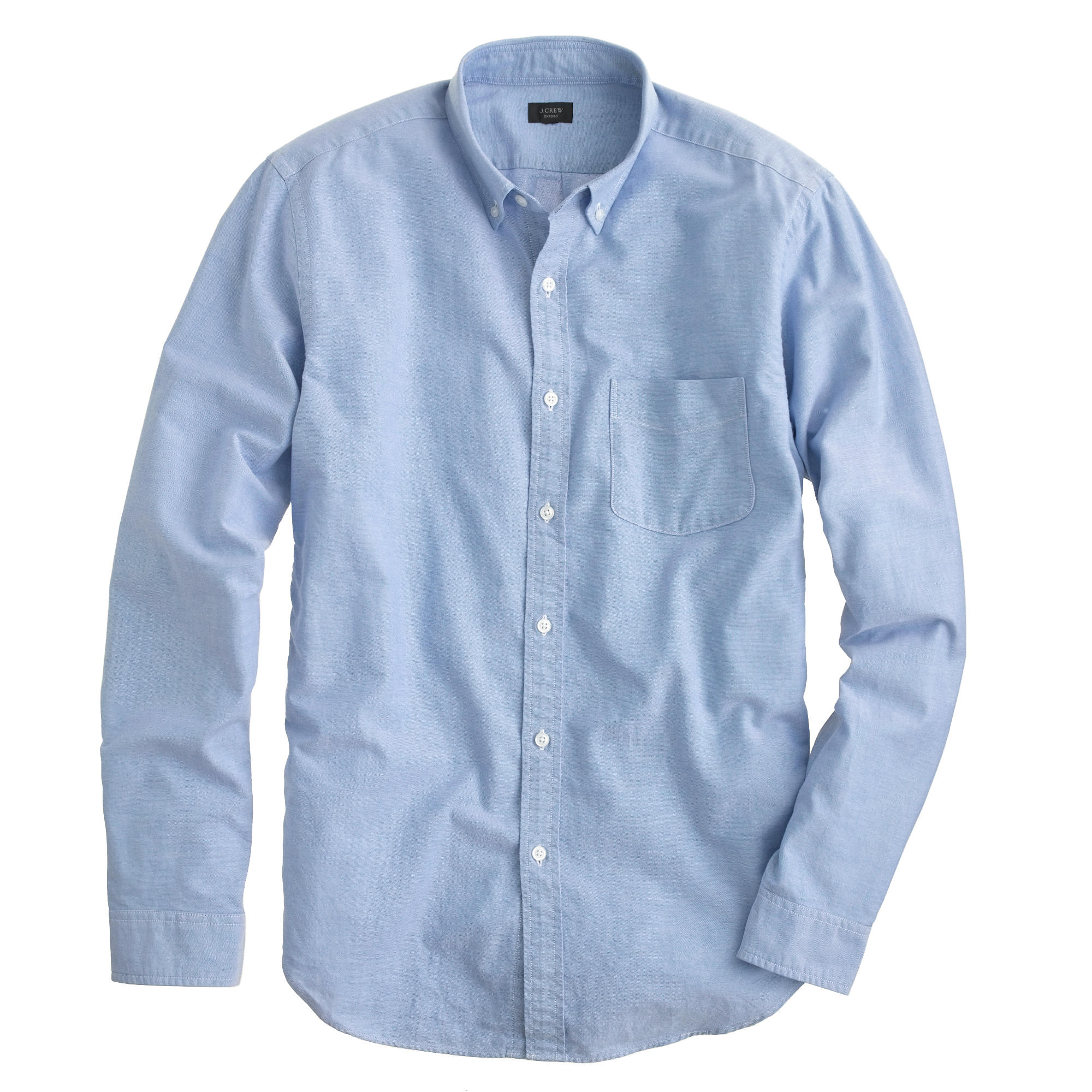 Target Work Shirts J Crew Vintage Oxford Shirt In Blue For Men Rustic Blue