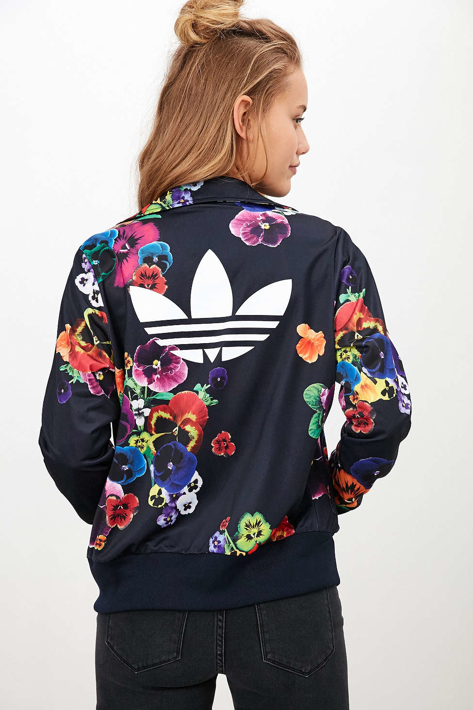 adidas floral clothing