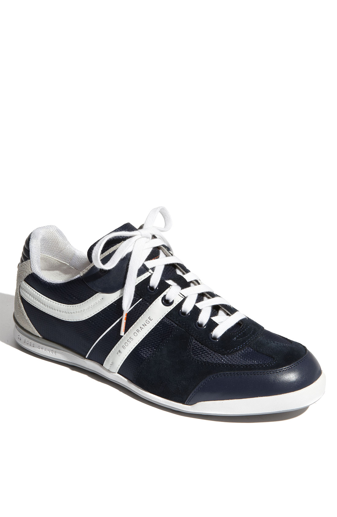 Hugo Boss Sneakers Hugo Boss Boss Orange Kempton Sneaker In Blue For Men