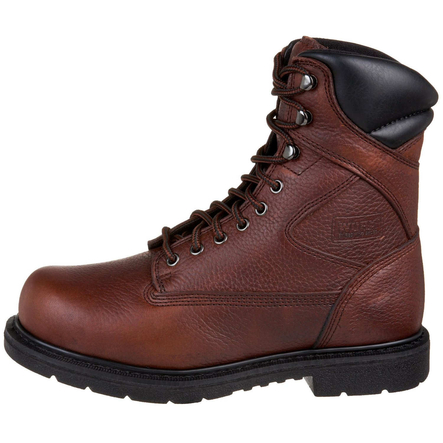 Red Wing Brown Worx By Red Wing Shoes Mens Oblique Toe