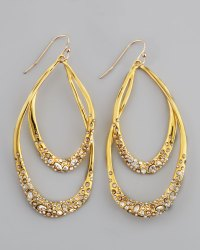 Alexis bittar Asymmetric Marquise Lucite Clip-On Earrings ...