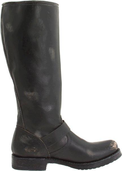Frye Frye Womens Veronica Slouch Boot In Black Black