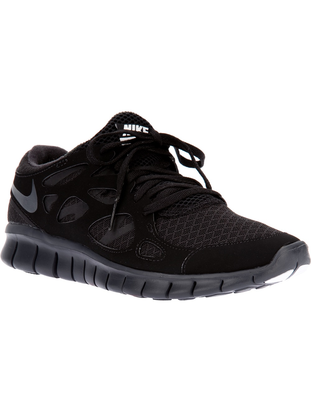 Nike Running Trainer Nike Free Run 2 Nsw Trainer In Black For Men Lyst