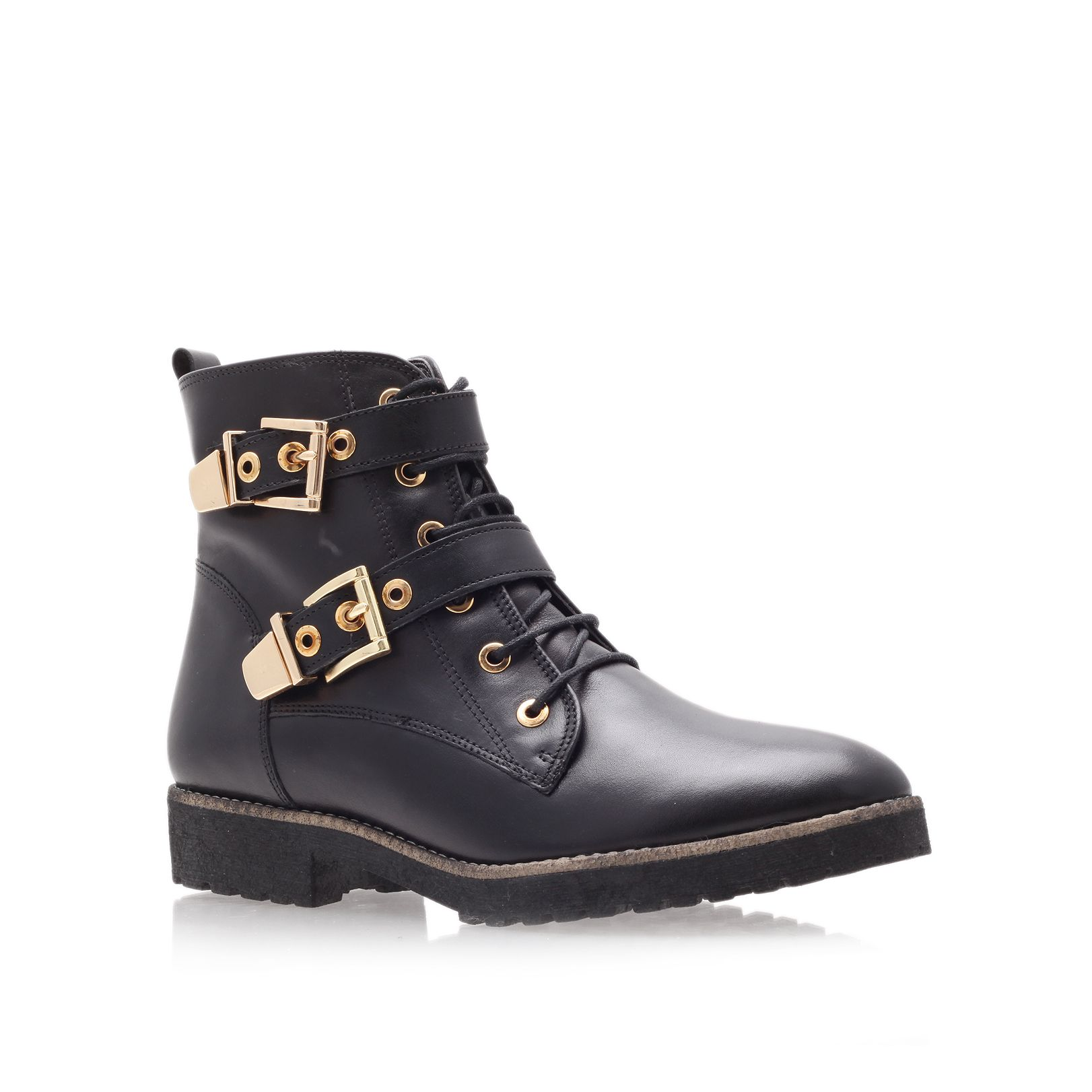 Lyst Carvela Kurt Geiger Simmy Hiking Boots In Black