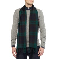 Lyst - J.Crew Cashmere Plaid Scarf in Green for Men