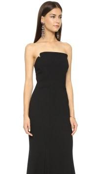 Lyst - Jill Jill Stuart Strapless Long Dress in Black