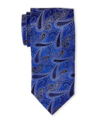 Brioni Royal Blue Paisley Silk Tie in Blue for Men (Royal ...