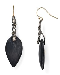 Alexis bittar Lucite & Crystal Lace Drop Earrings in Black ...