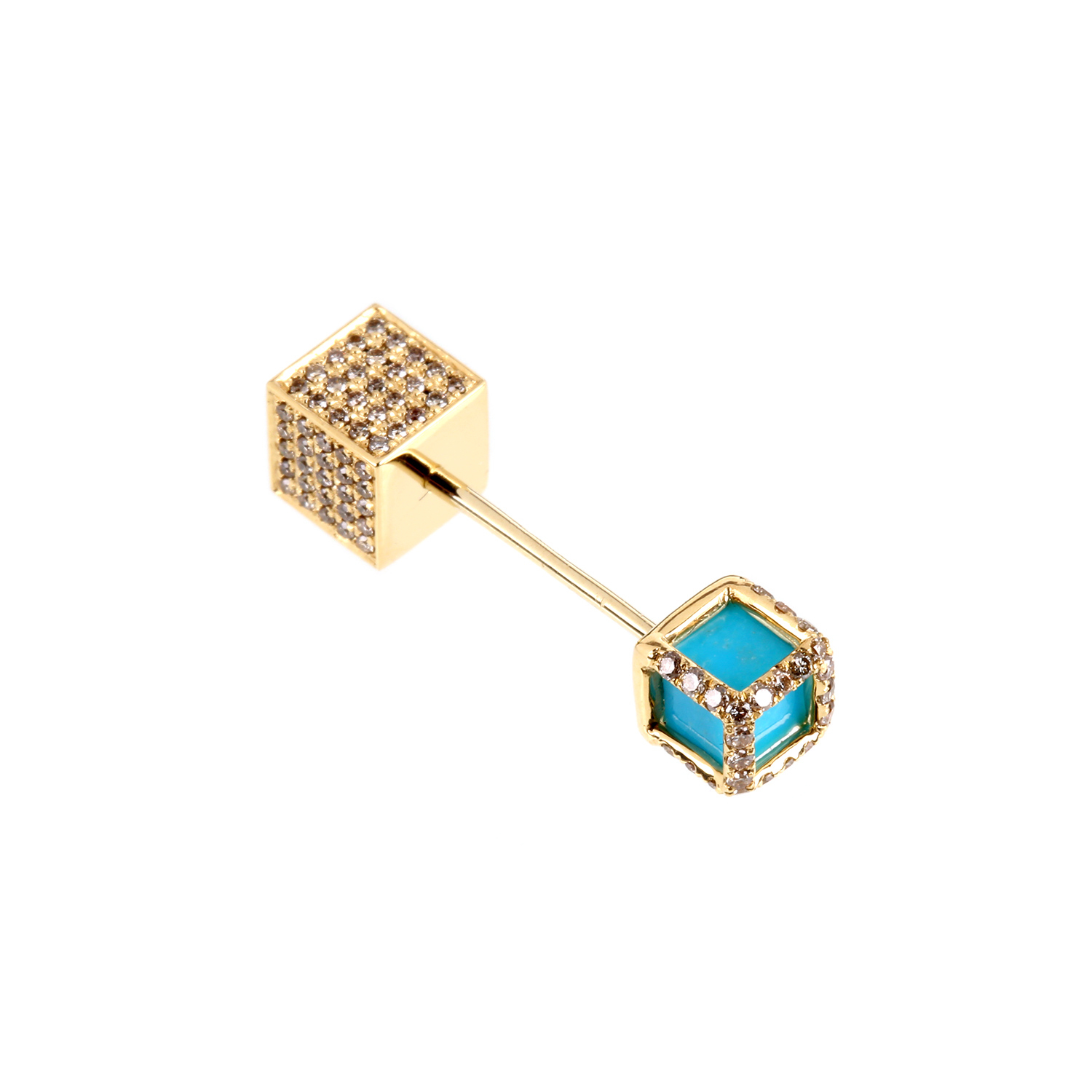 Elise dray Earring in Blue (OR JAUNE)