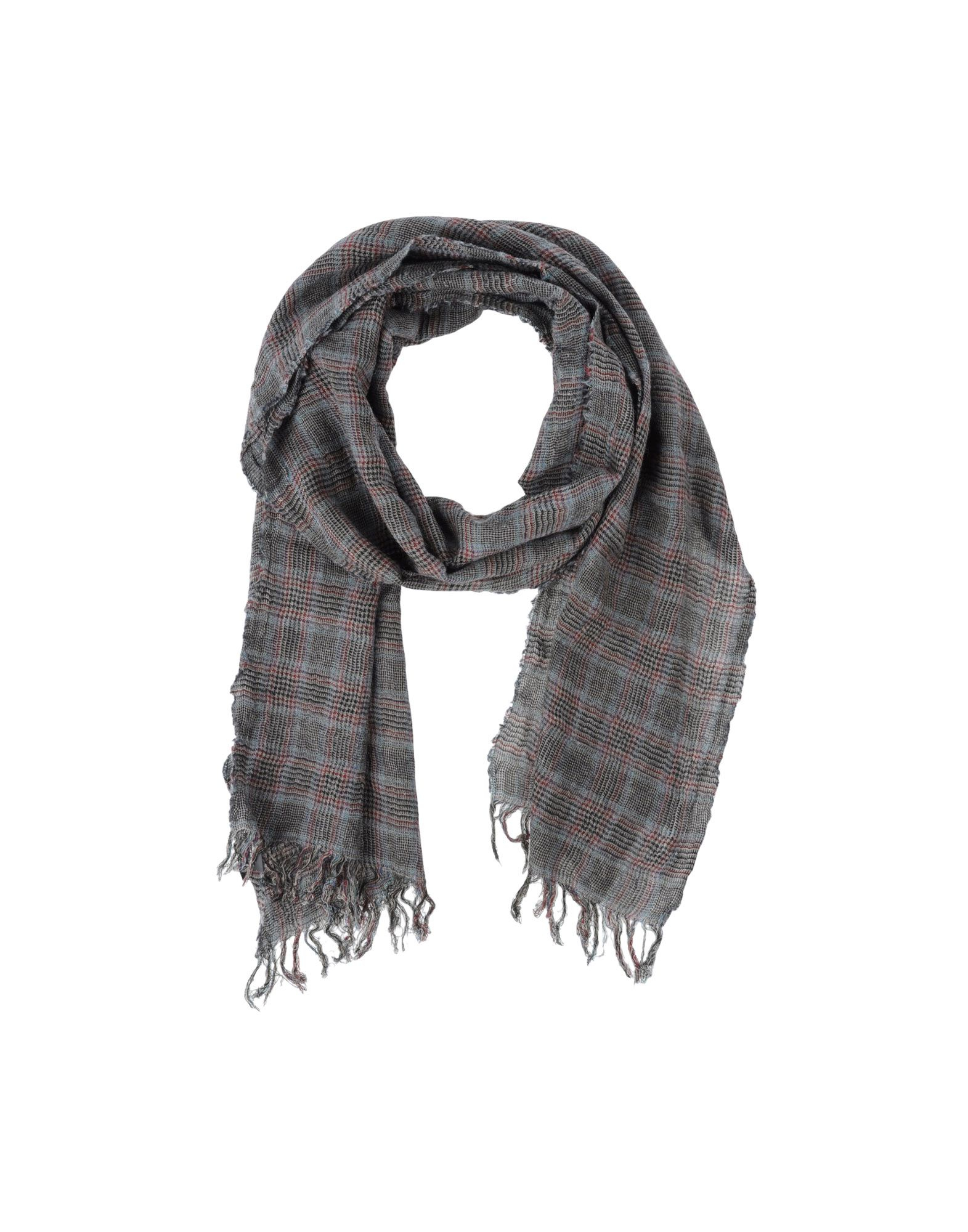 Scarves With Company Logo Lyst C P Company Oblong Scarf In Gray