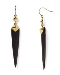 Alexis bittar Lucite Pyramid Capped Spear Drop Earrings in ...
