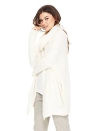 Lyst - Dkny Merino Alpaca Infinity Scarf in White