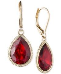 Red And Gold Earrings Dyrberg Kern Louise Drop Earrings In ...