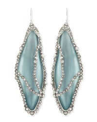 Alexis Bittar Crystalcaged Lucite Dragonfly Wing Earrings ...
