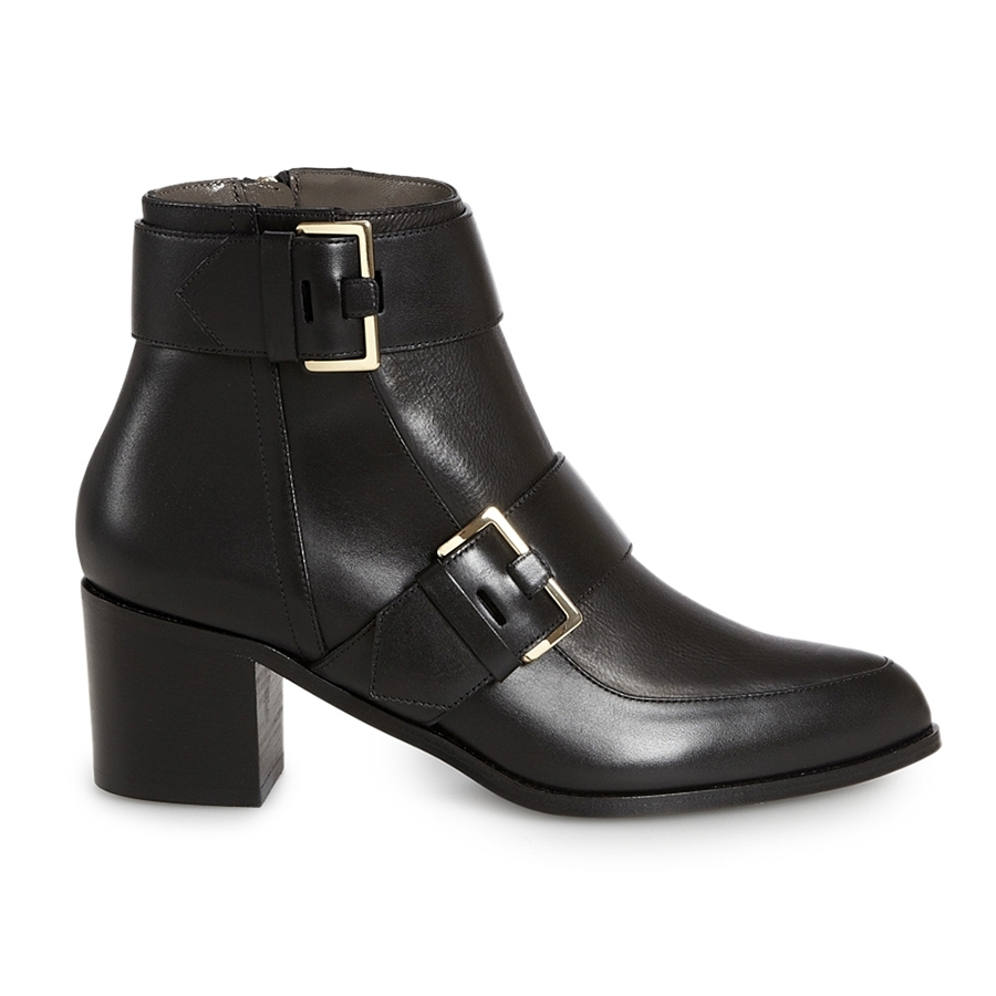 Lyst Jason Wu Leather Buckle Boot In Black
