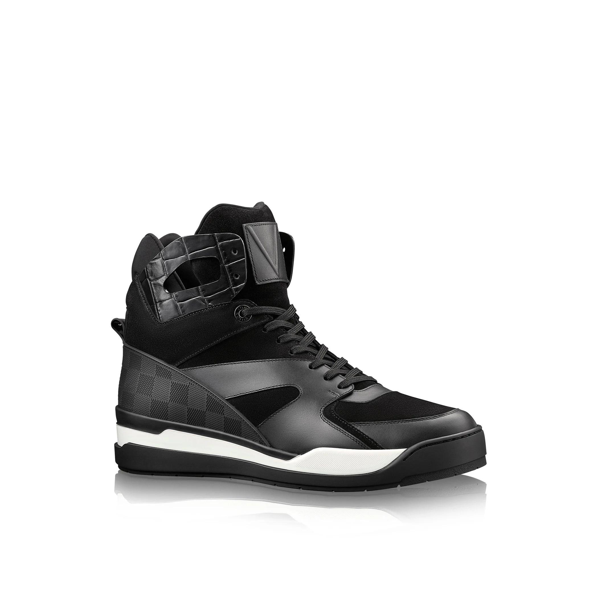 Louis Vuitton Kick Off Sneaker Boot In Black For Men Lyst
