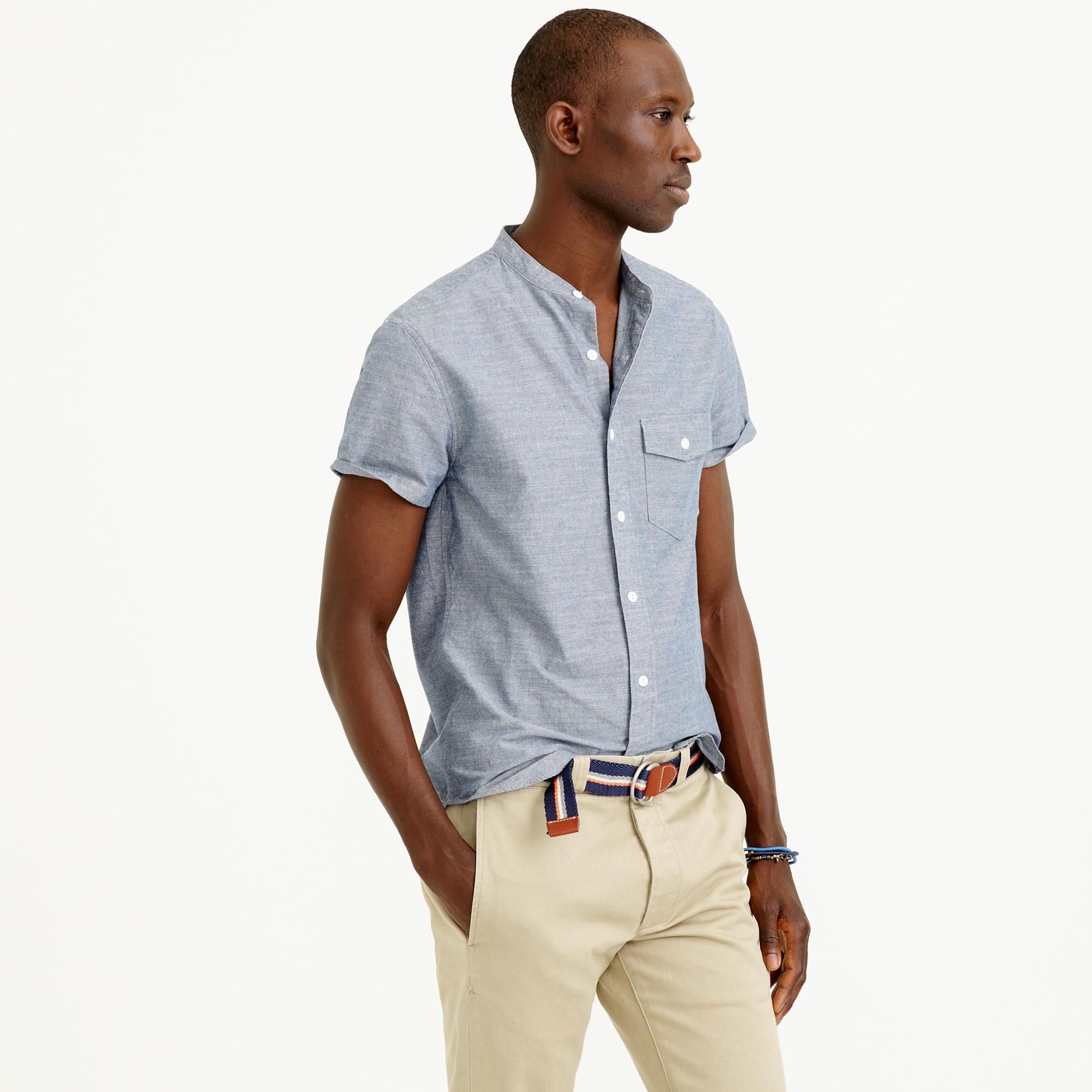 monogram dress shirts for men